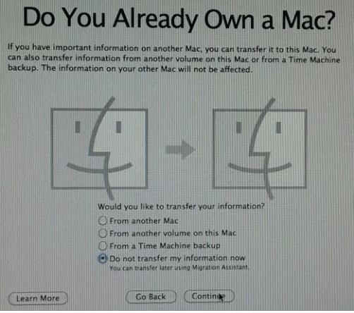 طريقة لحل مشكلة فقدت الحساب المسؤول في ماك