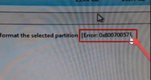 طريقة اكتشاف الخطأ 0x80300024