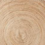 Jute Textured Rug 150cm Target Australia