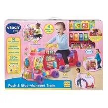 Vtech Push Ride Alphabet Train Pink