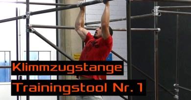Video - Die Klimmzugstange - Trainingstool Nr. 1 für Kletterer und Boulderer!