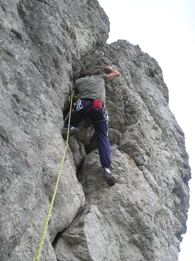 Meine Anfänge im Jahr 2007: 5er Schulterriss in Burglesau