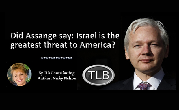 AWDnews is a fraud Julian Assange Israel is the greatest threat to America