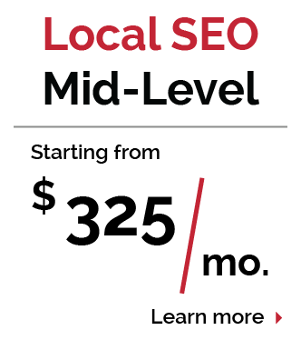 Local SEO Mid-Level Pricing Package