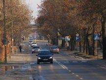 Ulica księcia Ziemowita pusta jest tylko w niedzielę / fot. Targowek.to