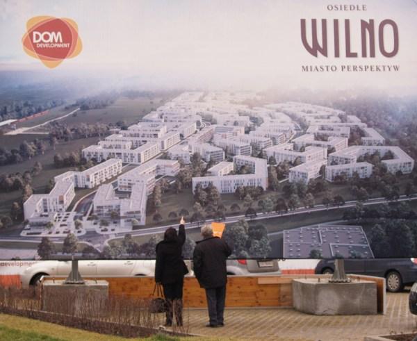 Osiedle Wilno znajdzie się w centrum nowego planu. Na tej reklamie widać, jak wielki obszar zajmie / fot targowek. info