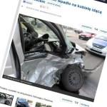 Trzy osoby ranne w zderzeniu na Odrowąża