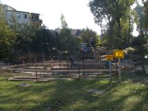 Budowa skweru przy Kondratowicza