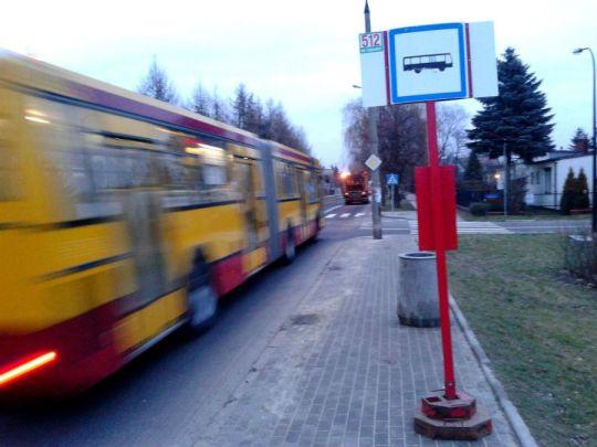 Od 1 stycznia na Rolanda zatrzymuje się 512. Wkrótce też 199? /fot. targowek.info