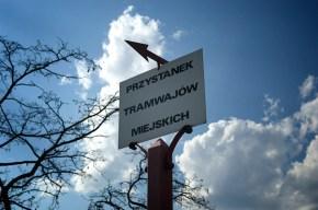 Zabytkowy przystanek tramwajowy na ul. Wysockiego /fot. Okno na Warszawę