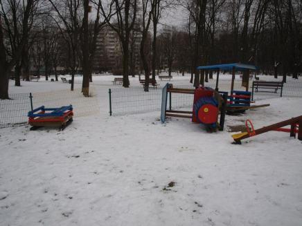 Wandale w Parku Wiecha