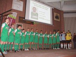 Prezentacja drużyny GKP przed rundą wiosenną /fot. GKP Targówek