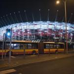 Jak wrócić z sylwestra pod Stadionem Narodowym