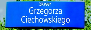 Skwer Grzegorza Ciechowskiego