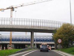 Na Trasie Toruńskiej cały czas remont / fot. targowek.info