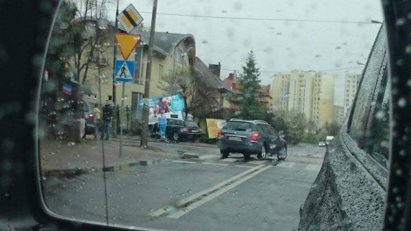 Wielkanocny wypadek przy przedszkolu /fot. czytelnik targowek.info