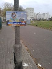 Kampania wyborcza na Bródnie / fot. czytelnik tagowek.info
