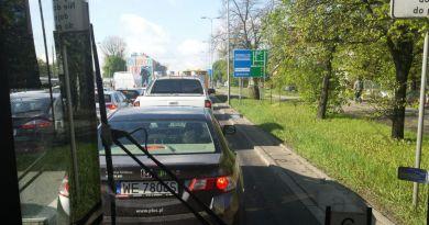 Będzie nowy buspas na Radzymińskiej