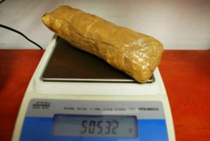 Pół kilo amfetaminy (brutto) / fot. policja