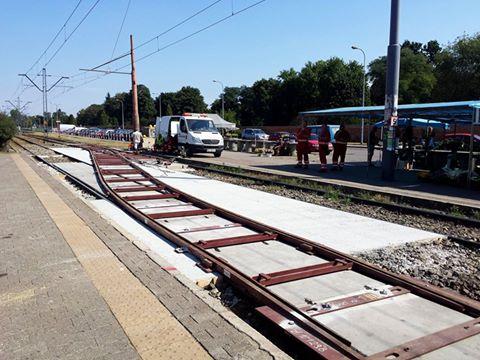 W tym miejscu będą zawracały tramwaje linii 1 / fot. targowek.info