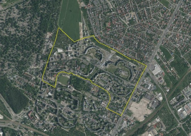 Granice przyszłego planu dla Targówka północnego / mat. urząd miasta