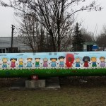 Wulgarne napisy na muralu zgłoszone do Hejtstop