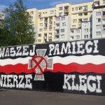 Mural Żołnierzy Wyklętych przemalowany