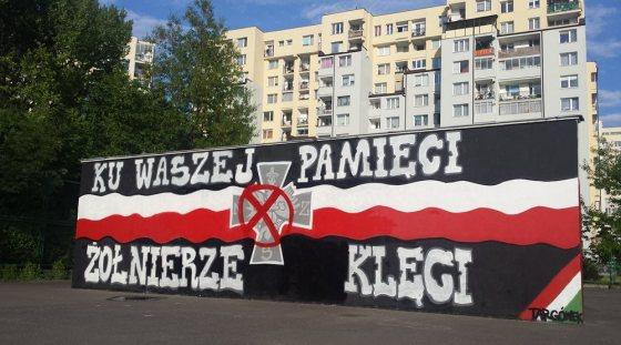 Tak teraz wygląda mural na ul. Askenazego / fot. targowek.info