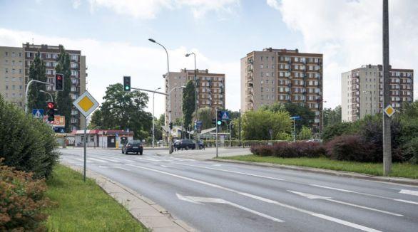 Skrzyżowanie Rembielinskiej i Kondratowicza / fot. ZDM