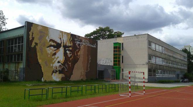 Mural z Ignacym Paderewskim / fot. targowek.info