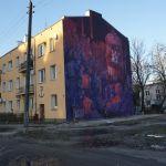 Ten mural ogląda cały świat. I to błoto wokół też