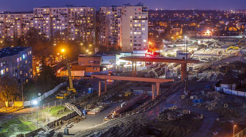 Raport z budowy metra: co zbudowano w grudniu 2017?