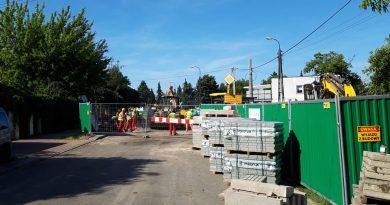 Budowa stacji Zacisze opóźniona