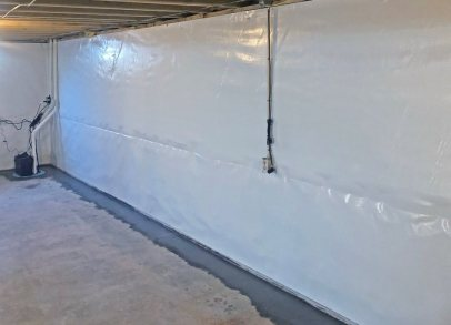 vapor barrier in basement