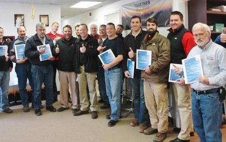 THBS Employees Receive Mold Training