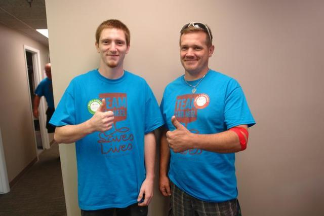 Tar Heel Basement Systems hosted its annual blood drive last Friday in Winston Salem