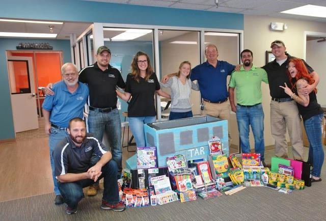 THBS has donated hundreds of school supplies to children and families in need