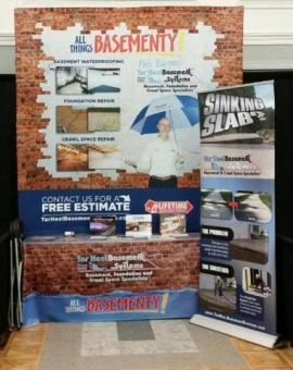 Two Big Events in One Week with Tar Heel Basement Systems