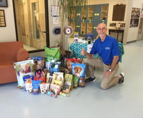 Employees Host Supply Drive to Support Stokes County Animal Shelter