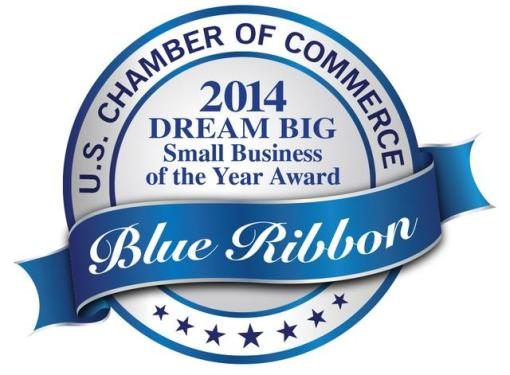 U.S. Chamber of Commerce 2014 Dream Big Small Business of the Year Award