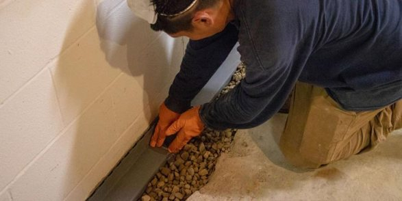 check your interior drainage system