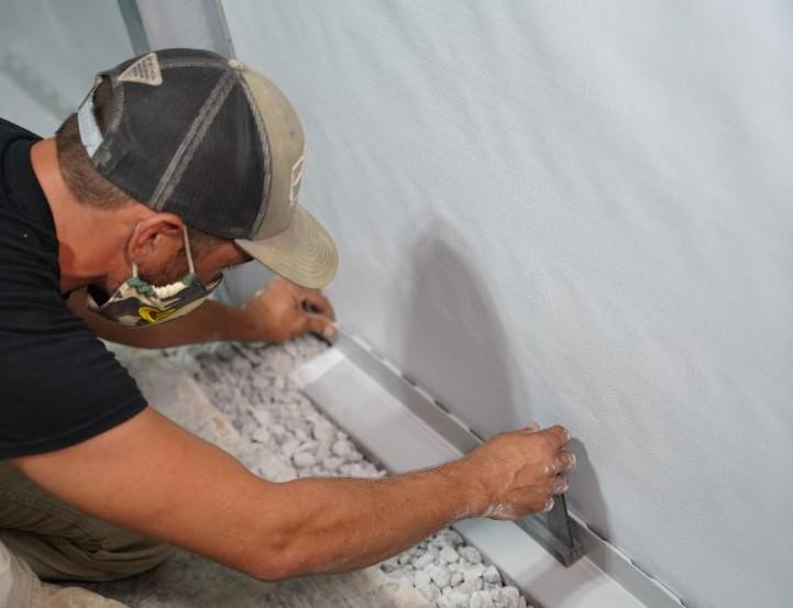 installing basement waterproofing solutions