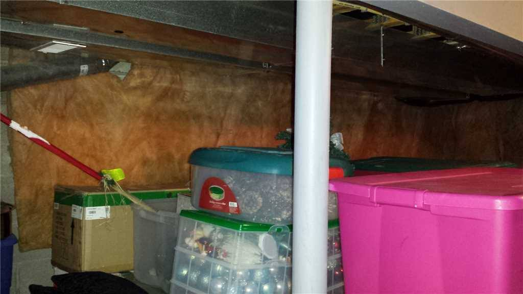 keeping a dry basement for storage