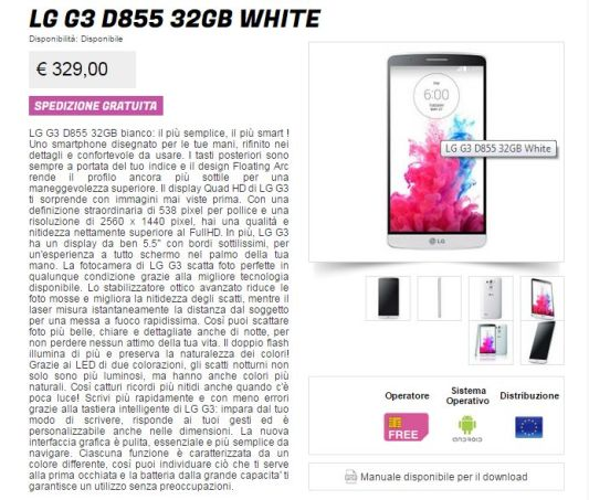 LG G3 e Samsung Galaxy S6