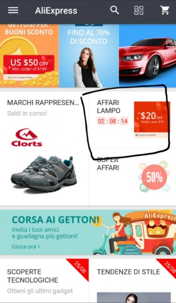 aliexpress flash sales