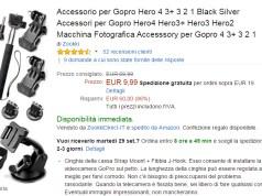 kit accessori gopro 10€
