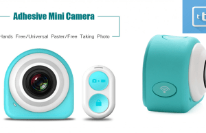 Mini camera WiFi adesiva