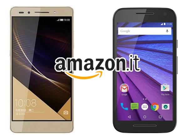 Honor 7 e Motorola Moto G