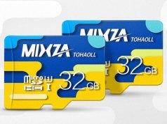 microsd 32gb mixza gearbest
