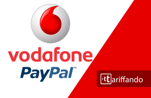 Vodafone pay paypal